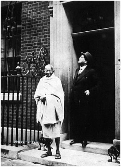gandhi di downing street london